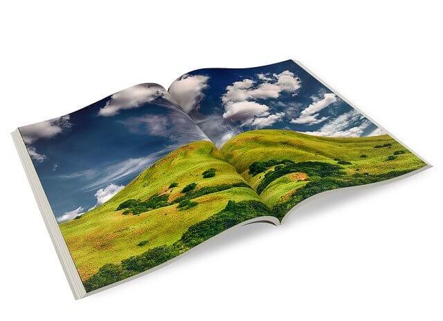 Fotobuch mit schönen Naturaufnahmen