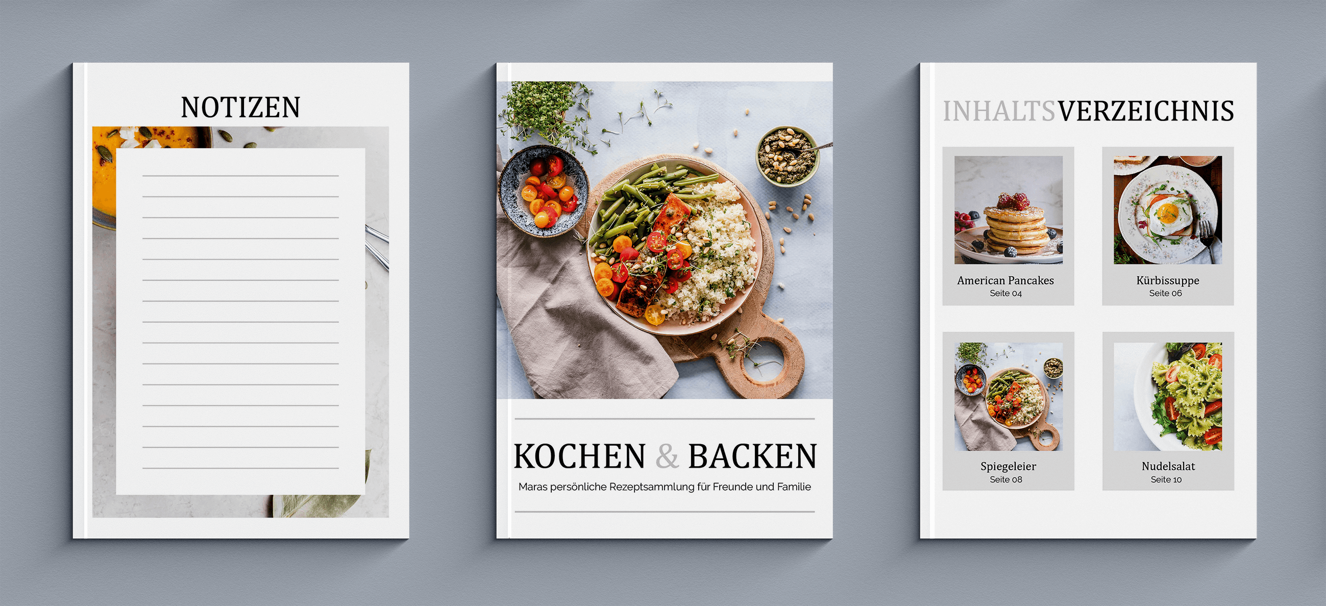 Eigenes Kochbuch als elegantes Magazin selbst erstellen
