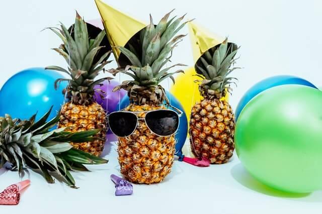 Lustige und ironische Geburtstagsfeier