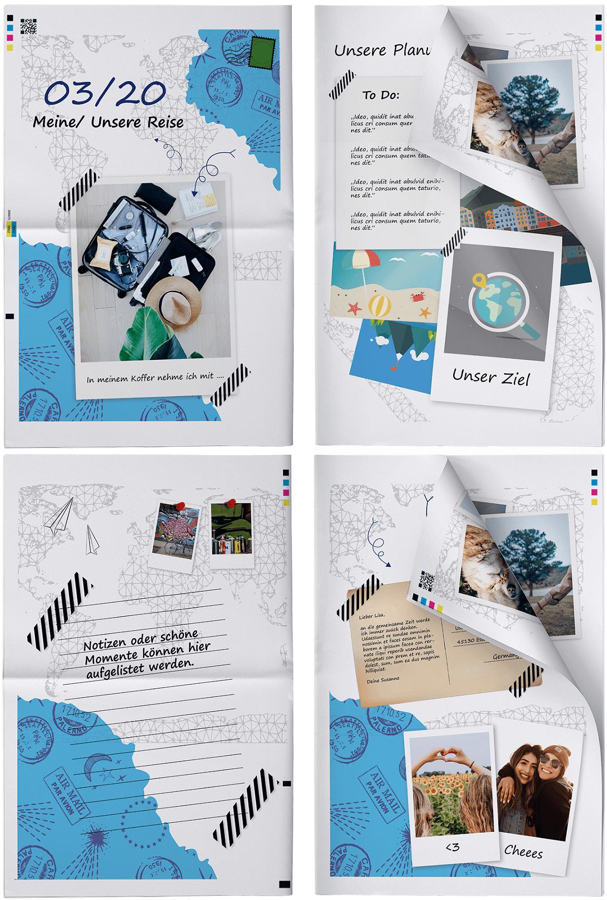 Ideen & Themen für ein persönliches Reisetagebuch