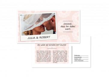 """Hochzeitskarte """"Liebesleuchten"""""""