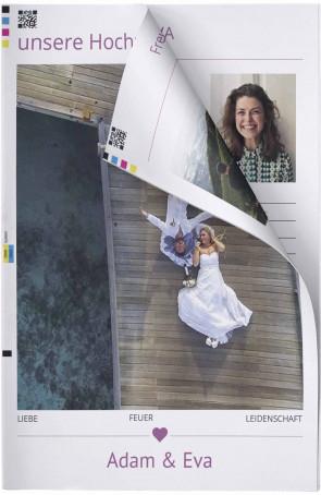 Hochzeitszeitung Modern