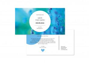 """Hochzeitskarte """"Save The Date"""""""