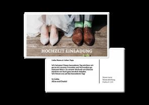 """Hochzeitskarte """"Er & Sie"""""""