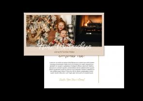 """Weihnachtskarte """"Familienzeit"""""""