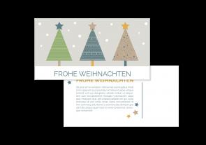 """Weihnachtskarte """"Winterwald"""""""