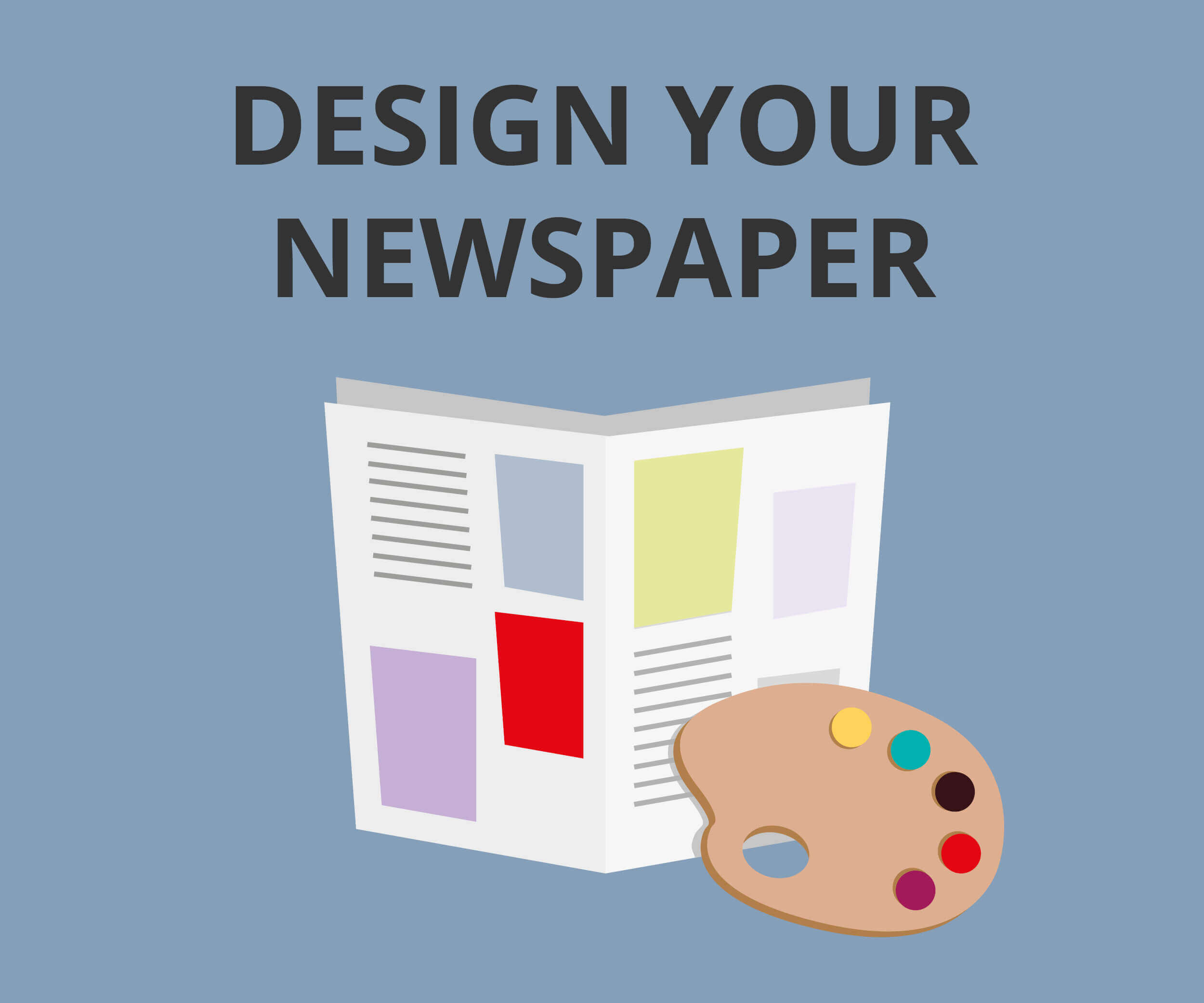 design your own newspaper