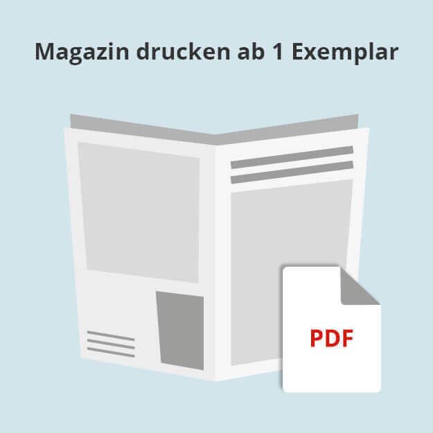 Eigene PDF als echtes Magazin drucken lassen