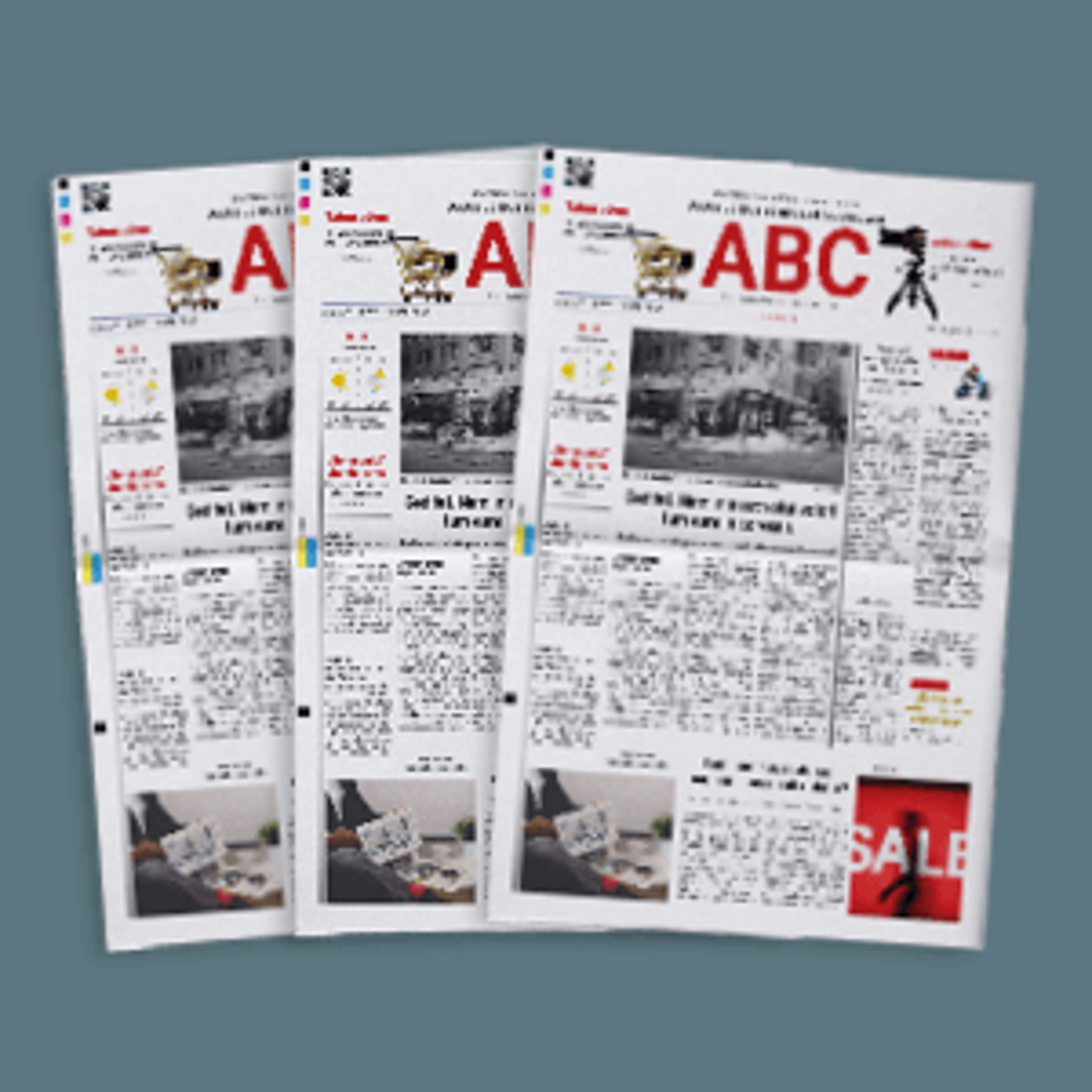 Zeitung in Großauflage drucken lassen