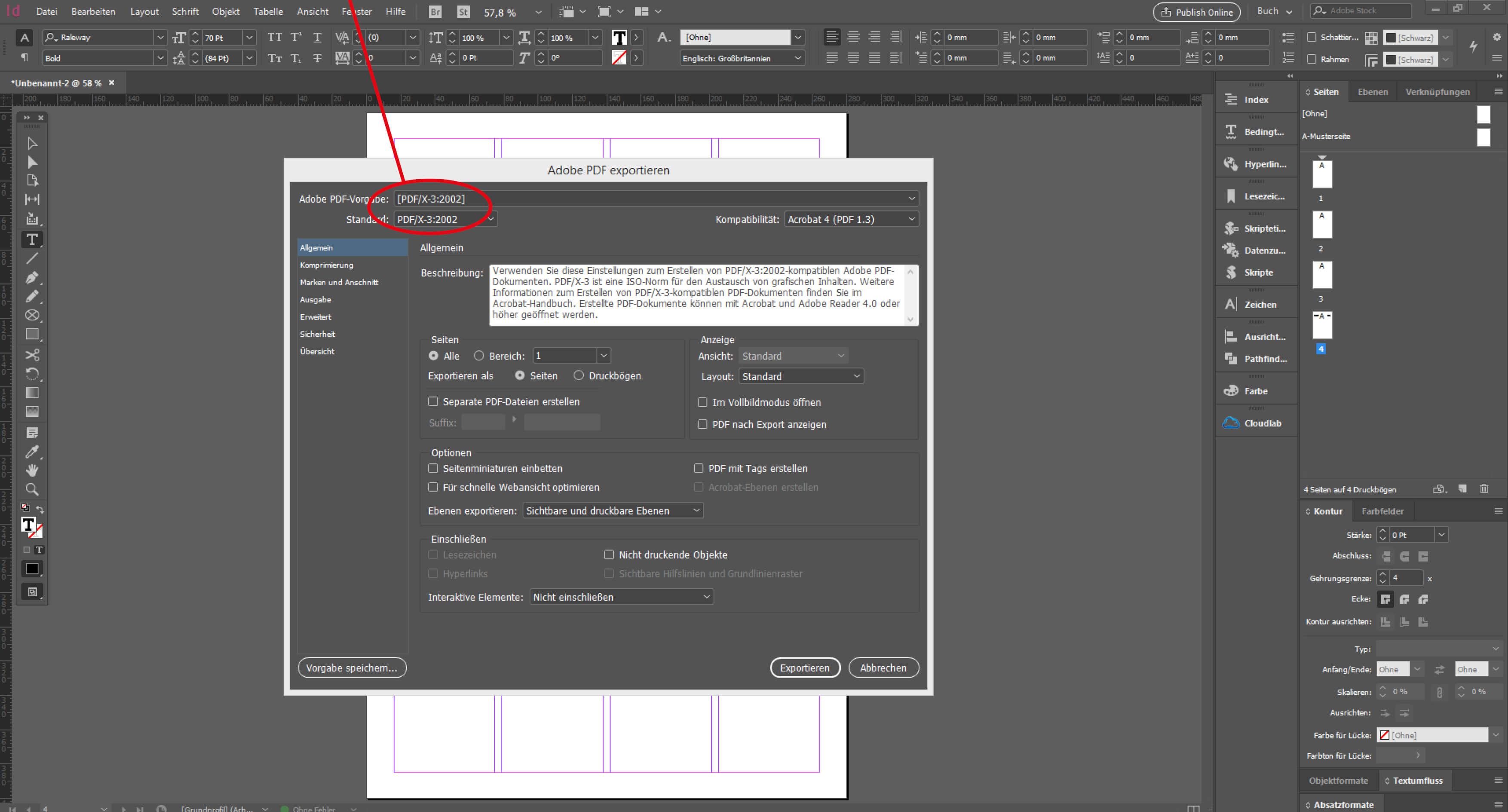 Zeitung im richtigen PDF-Format konvertieren