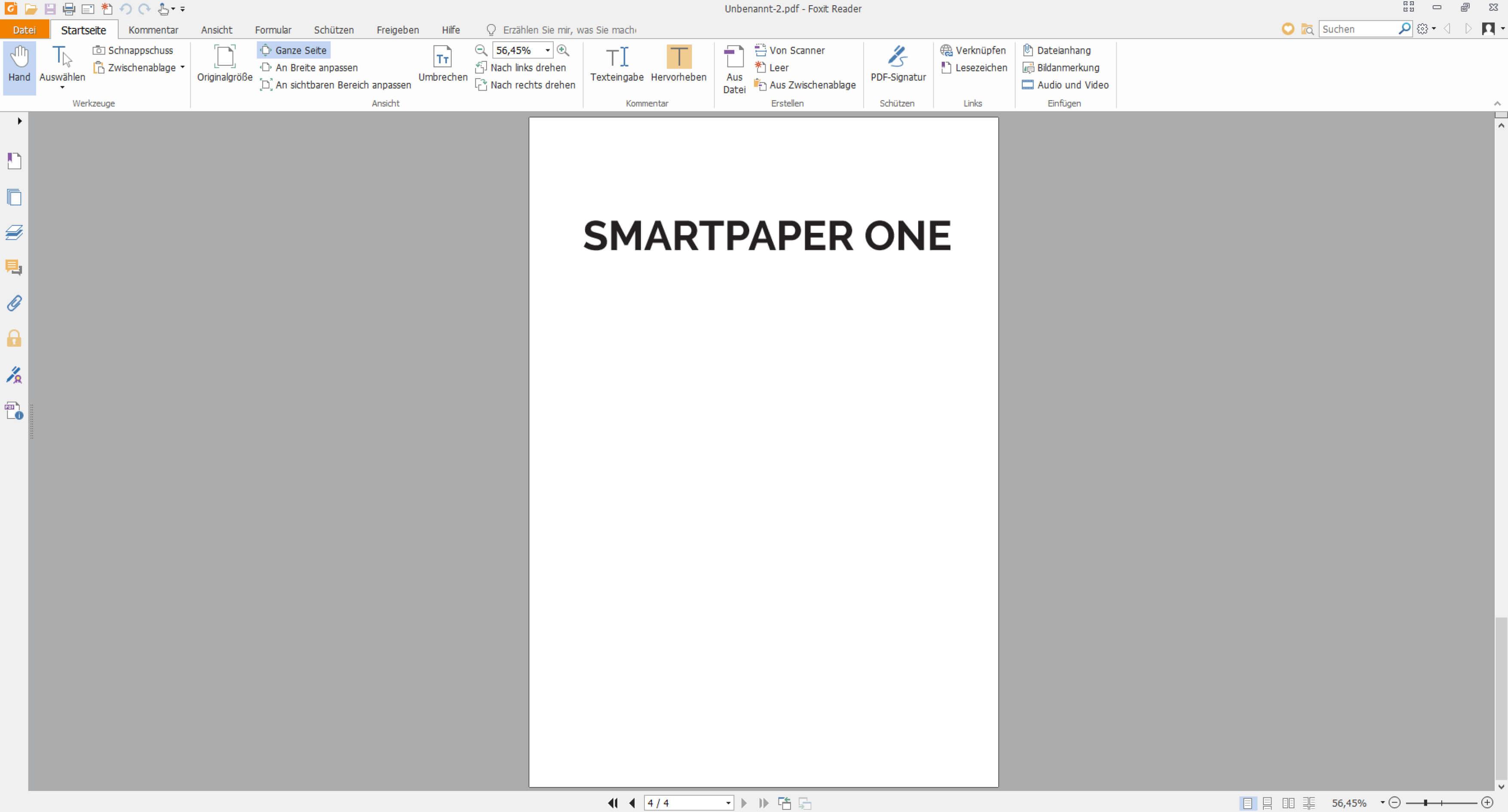 Zeitung als PDF-Datei speichern
