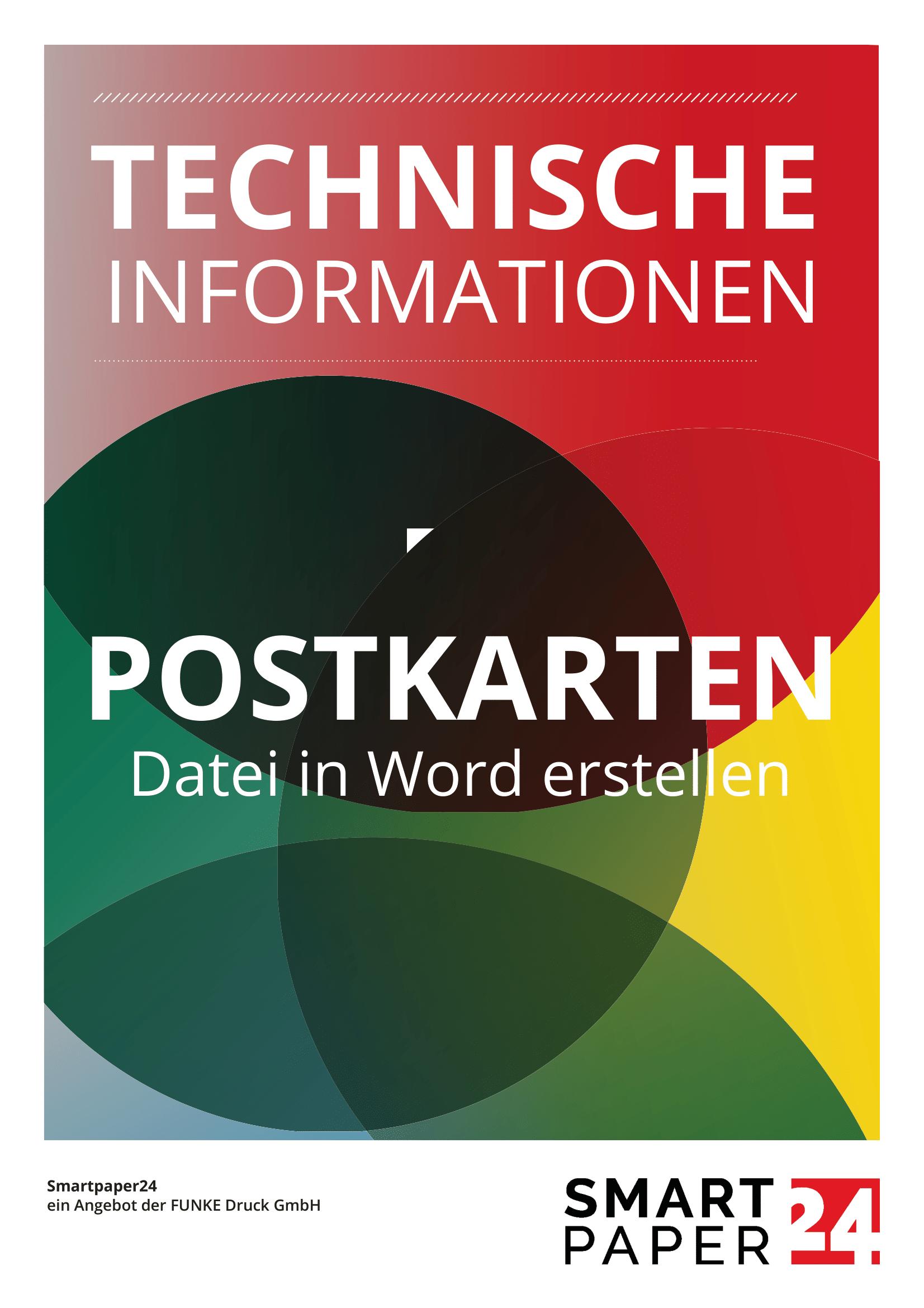 Postkarte mit MS Word erstellen - Anleitung